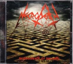 NECRODEATH - Defragments Of Insanity CD Thrash Metal