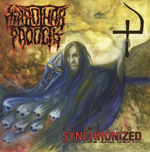 ЖИВОТНАЯ РАДОСТЬ - Synchronized With Life and Death CD Death Metal