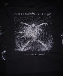 SOLI DIABOLI GLORIA - The Last Blessing - S Майка Black Metal
