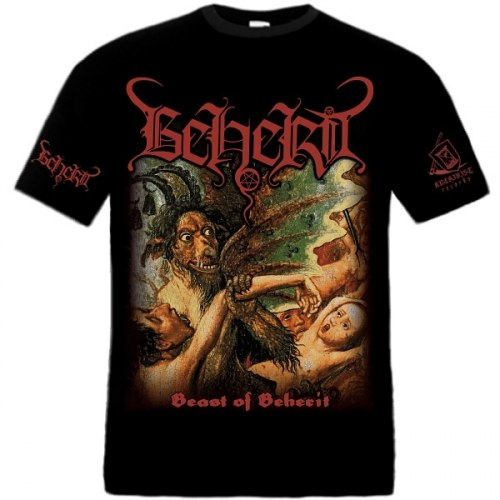 BEHERIT - Beast of Beherit - L Майка Black Metal