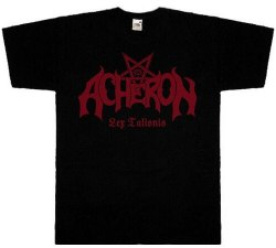 ACHERON - Lex Talionis - XL Майка Death Metal