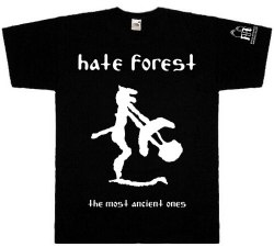 HATE FOREST - The Most Ancient Ones - M Майка Heathen Metal