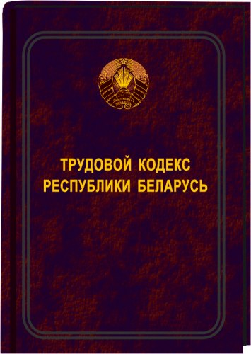 Трудовой кодекс Республики Беларусь 2020 (Электронная версия)