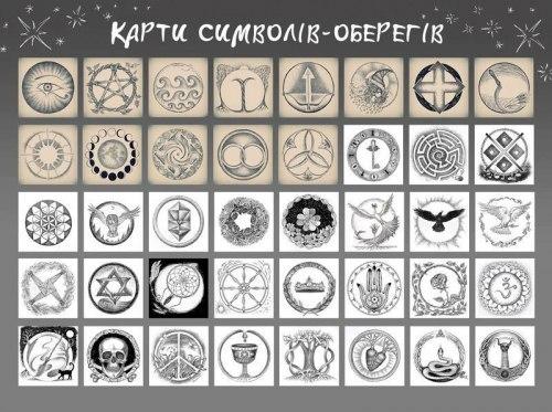 Карты «Символы-Обереги» Райда Альона