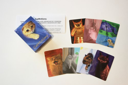 """Карты """"«Котомоции» (CatMotions)"""" Довлатов Константин"""