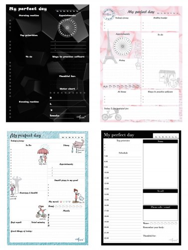 Ежедневник daily planner My perfect day
