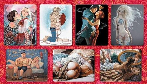 Карты «Emmanuelle. Лики женской сексуальности» Ирина Федорова