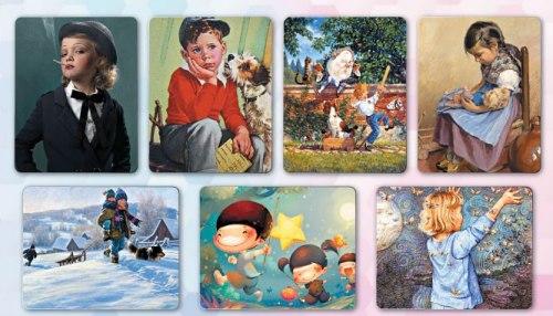 Карты «Детство глазами художника» Ирина Федорова