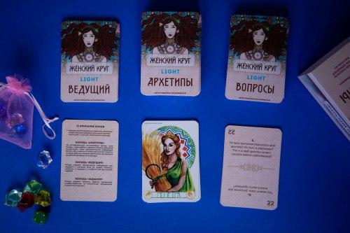 Игра «АРХЕТИПЫ ЖЕНСКИЙ КРУГ LIGHT» Людмила Малиновская