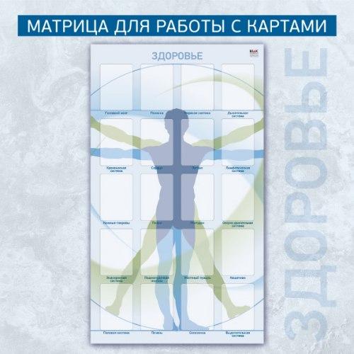 Матрица для работы с картами «Здоровье» Ирина Федорова