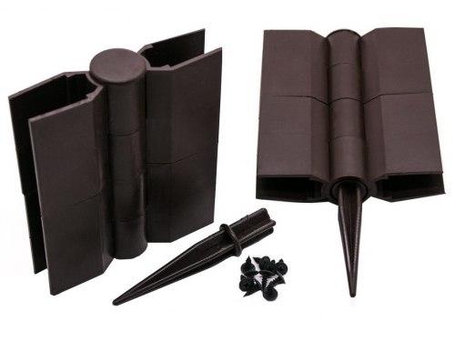 Стыковочный элемент для грядки, пластик
