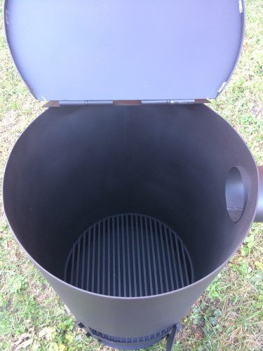 """Печь-бочка для сжигания мусора """"Смуглянка"""" 250Л (NADA)"""