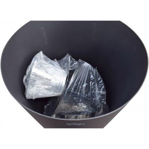 Большая печь для сжигания мусора СМ-60