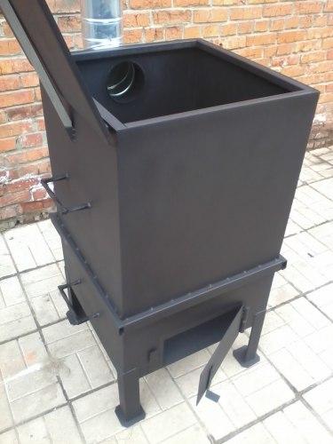 """Печь для сжигания мусора """"Уголек"""" 325Л"""