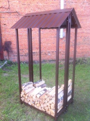 Навес для дров (Дровница) КУБ-2Д