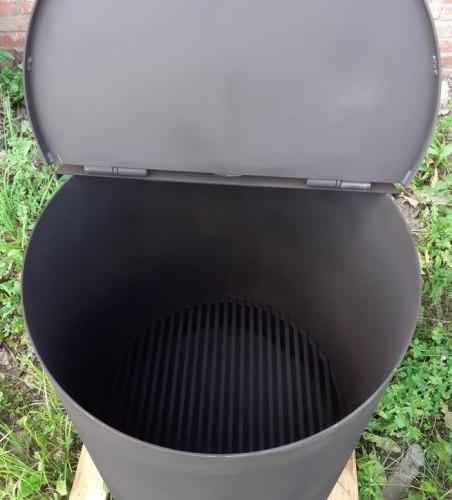 """Печь бочка для сжигания мусора УСМ-200 """"Утилизатор"""" (NADA)"""
