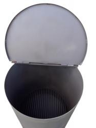 Печь-бочка для сжигания мусора Уголек-150 (NADA)