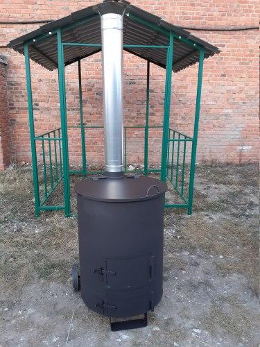 """Печь для сжигания мусора """"Смуглянка"""" 200 Л (NADA)"""