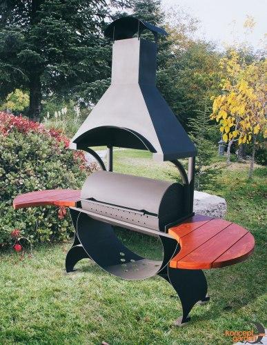 Мангал-коптильня МК-3 Concept garden
