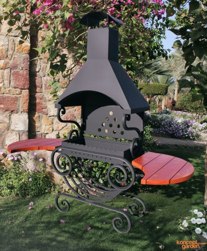 "Мангал МС-11 ""Ажур"" Concept garden"