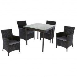 Комплект обеденный Munich (4 кресла, стол)