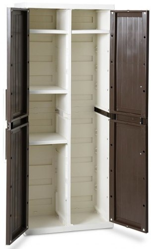 Шкаф WOOD LINE S, 2-х дверный с 4 полками