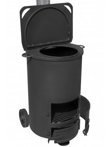 Большая печь для сжигания мусора СМ-75