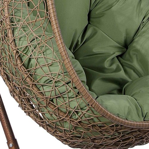 Подвесное кресло из искусственного ротанга AFM-219B Beige
