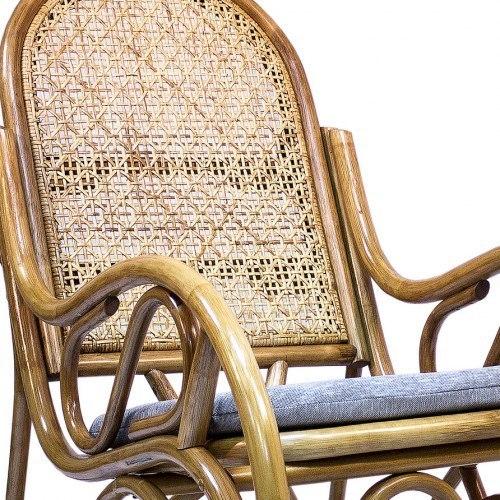 Кресло-качалка Moscow с подушкой
