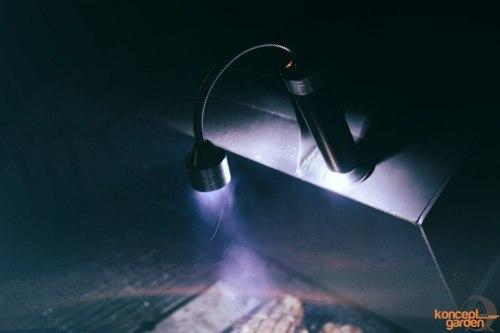 Беспроводной магнитный фонарь БФ-1 для мангала
