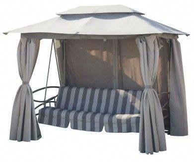 Качели-шатер с москитной сеткой