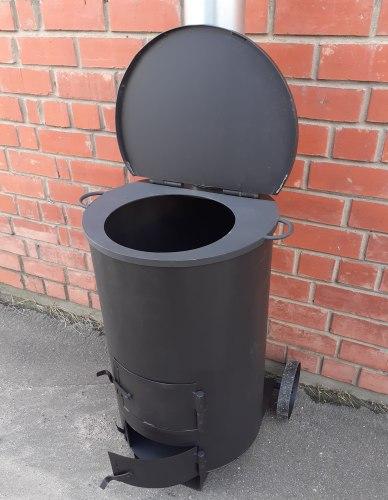 """Мусоросжигательная печь """" Дым - Дымок """" 4 мм (130 Л)"""