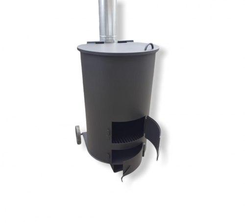 """Печь для сжигания мусора """"Дым - Дымок"""" 3 мм (130Л)"""