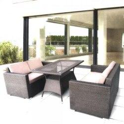 Комплект мебели с диванами SERTOW Brown