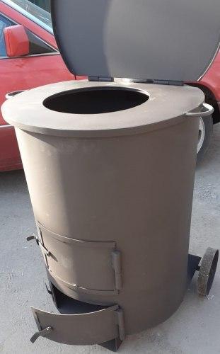 Плита под казан для мусоросжигательной печи (круглая)