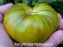 Семена томатов Китайская принцесса - 1 уп.-20 семян - высокорослый, зелёный с желтизной, сладкий, 300 г. Семенаград - семена почтой
