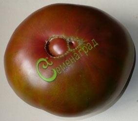 Семена томатов Крем-брюле - 1 уп.-20 семян - высокорослый, до 400 г, кроваво-чёрный, сладкий. Семенаград - семена почтой