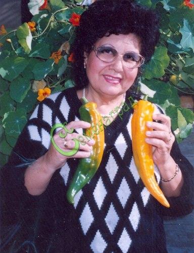 Семена сладкого перца Самсон - 10 семян - конический, жёлтый, длиной до 30 см
