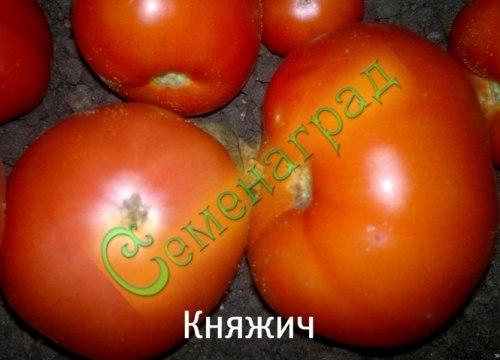 Семена томатов Княжич - 1 уп.-20 семян - среднерослый, ранний, до 250 г, редкий, транспортабельный. Семенаград - семена почтой