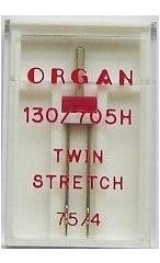 Иглы ORGAN Twin Streich 1-75/4