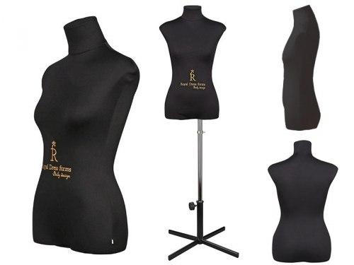 Манекен Royal Dress Forms Christina Черный