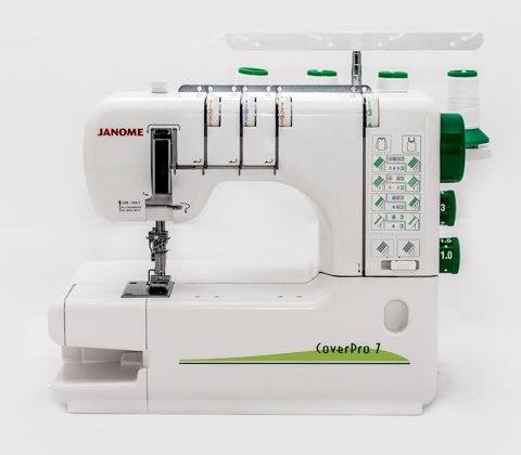 Распошивальная машина Janome Cover Pro 7 / CP7