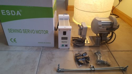 Сервопривод для промышленной швейной машины ESDA / SEGESY / KRAFT servo