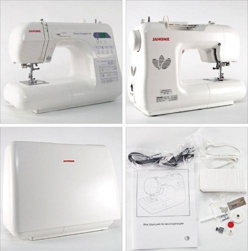 Швейная машина Janome Decor Computer 50 / 3050 / DC50 / DC3050