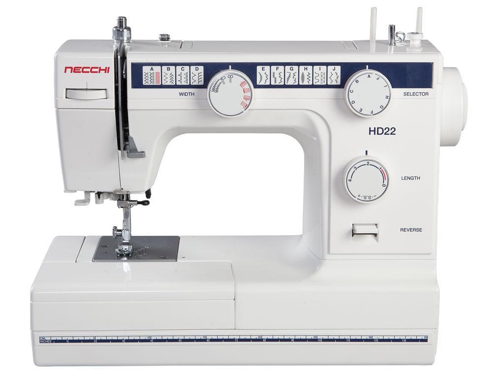 Швейная машина Necchi на базе завода Janome Таиланд