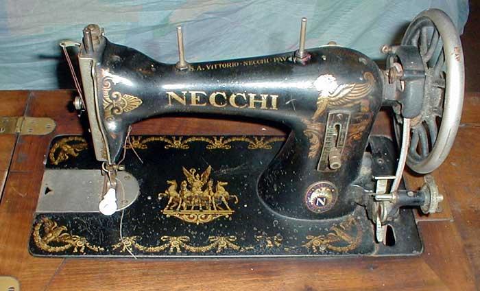Швейная машина Necchi BD (Central Bobbin)