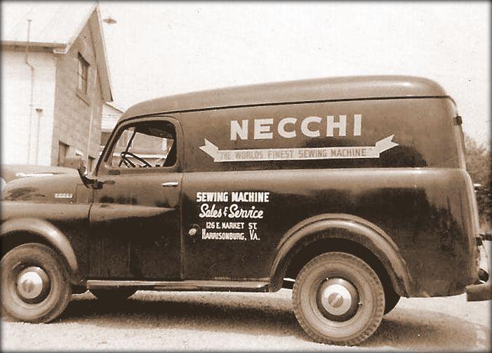 Развитие бренда швейных машин Necchi