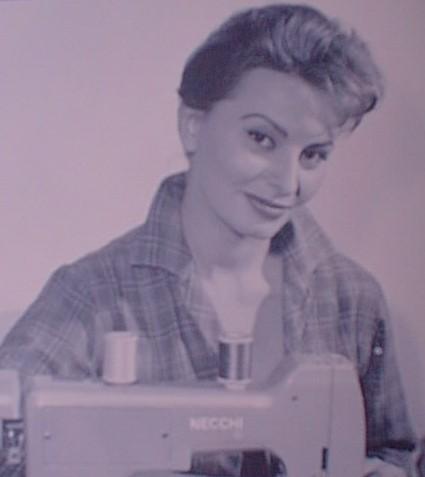 Софи Лорен - лицо бренда Necchi