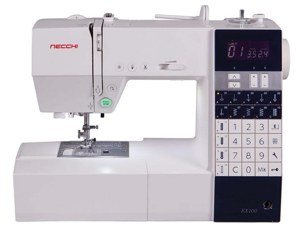 Швейная машина Necchi на базе завода Janome