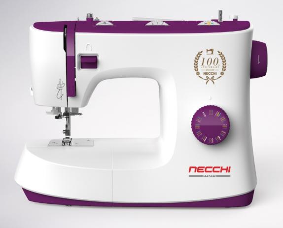 Necchi 4434,произведенная на заводеZeng Hsing Industrial Co., Ltd.